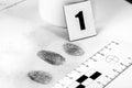 Fingerprint Royalty Free Stock Photo