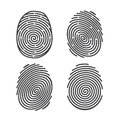 Fingerprints Stock Photo