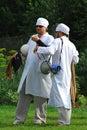 Finja a los médicos Foto de archivo