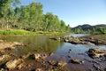 Finke River, Australia Royalty Free Stock Photo