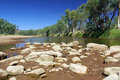 Finke River, Australia Royalty Free Stock Photo