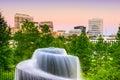 Finlay park in columbia sc south carolina usa at fountain Stock Image