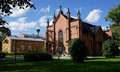 Finlaysonin kirkko tampere finland finlayson church Royalty Free Stock Image