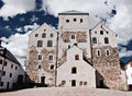 Finnish castle Stock Images