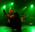 Finnish rockers Poets of the Fall live on stage Stock Image