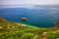 Fiolent , Crimea - sea landscape Royalty Free Stock Photo