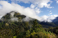 Fiordland new zealand landscape of mountains in Stock Photos