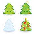 Fir-trees Collection For Diffe...