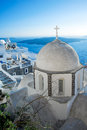 Fira church Royalty Free Stock Photography