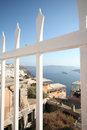 Fira santorini greece town island Royalty Free Stock Image