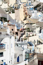 Fira santorini greece town island Stock Photography