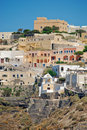 Fira the village of santorini island greece Royalty Free Stock Image