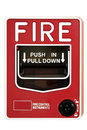Fire Alarm Control Switch Stock Image