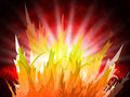 Fire Background Represents Fiery Inferno And Design Royalty Free Stock Photo