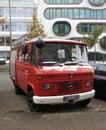 Fire brigade vehicle in Hamburg