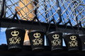 Fire buckets on HMS Victory. Royalty Free Stock Photo
