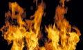 Fire burning Royalty Free Stock Photo