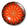 Fire Button Orb Royalty Free Stock Photo