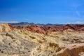 Fire Canyon / Silica Dome, Nevada, USA Royalty Free Stock Photo