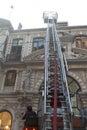Fire at Cicek Pasaji Royalty Free Stock Photo