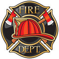 Fire Department Stock Photo