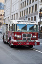 Fire department car san francisco on duty Royalty Free Stock Photos