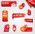 Fire elements set vector eps illustration Royalty Free Stock Image