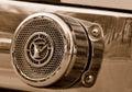 Fire Engine Horn Stock Photo