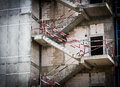 Fire escape ladder Royalty Free Stock Photo
