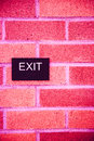 Fire Exit Royalty Free Stock Photo