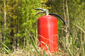 The fire extinguisher Royalty Free Stock Photo