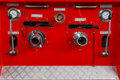 Fire extinguisher control panel Royalty Free Stock Photo