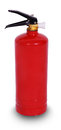 Fire extinguisher isolate on white background Stock Photography