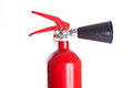 Fire extinguisher's head Stock Photography