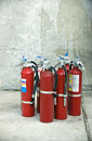 Fire Extinguishers Royalty Free Stock Photos
