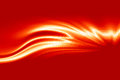 Fire flame. Abstract vector wave background Royalty Free Stock Photo