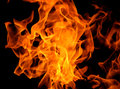 Fire flame texture background blaze Stock Photography
