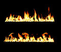 Fire and flames Stock Photography