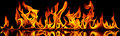 Fire and flames. Royalty Free Stock Photo