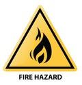 Fire hazard Royalty Free Stock Photo