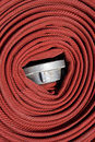 Fire hose Royalty Free Stock Photo