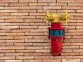 Fire hose valve Royalty Free Stock Photo
