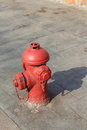 Fire hydrant close view of a public Royalty Free Stock Image