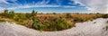 Fire Island National Seashore in Fall. Long Island, New York Royalty Free Stock Photo