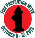 Fire Prevention Week 2013 Stock Photo