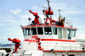 Fire Rescue Boat Stock Photos