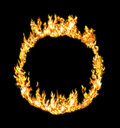 Fire ring Stock Image