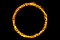 Fire Ring Background Royalty Free Stock Photo