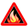 Fire sign Stock Photos