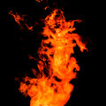 Fire splash abstract background and texture Stock Photography